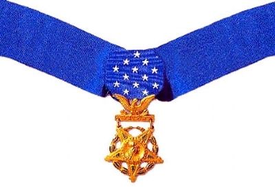The US Army's Version of the Medal of Honor image. Click for full size.