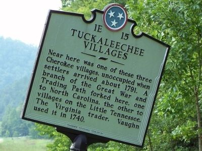 Tuckaleechee Villages Marker image. Click for full size.