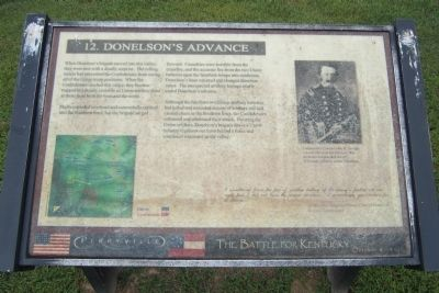 Donelson's Advance Marker image. Click for full size.