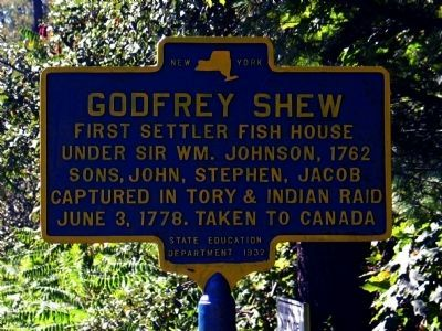 Godfrey Shew Marker image. Click for full size.