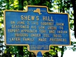 SHEW'S HILL Marker image. Click for full size.