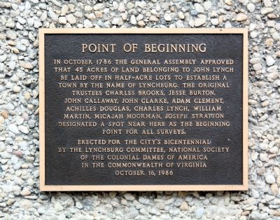 Point of Beginning Marker image. Click for full size.