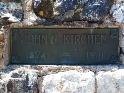 John G. Kirchen Marker image. Click for full size.
