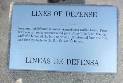 Lines of Defense Marker image. Click for full size.