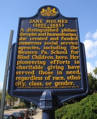 Jane Holmes Marker image. Click for full size.