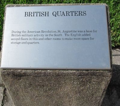 British Quarters Marker image. Click for full size.