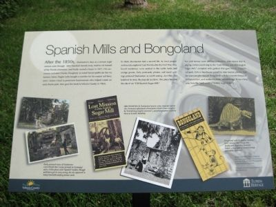 Spanish Mills and Bongoland Marker image. Click for full size.