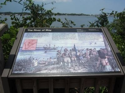 The River of May Marker image. Click for full size.