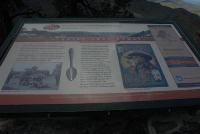 Lariat Loop Byway: Buffalo Bill Museum Marker image. Click for full size.