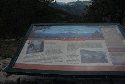 Lariat Loop Byway: Denver Mountain Parks Marker image. Click for full size.