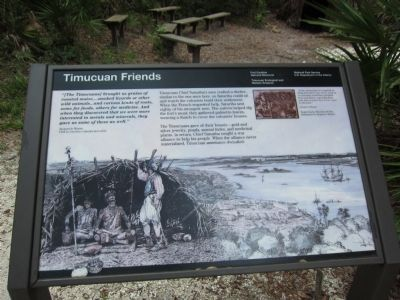 Timucuan Friends Marker image. Click for full size.