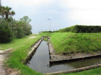 Fort Caroline image. Click for full size.