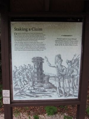 Staking a Claim Marker image. Click for full size.