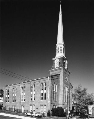Court Street Baptist Church, 1880 image. Click for full size.