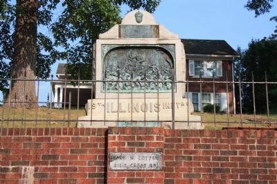 19th Illinois Infantry Monument image. Click for full size.