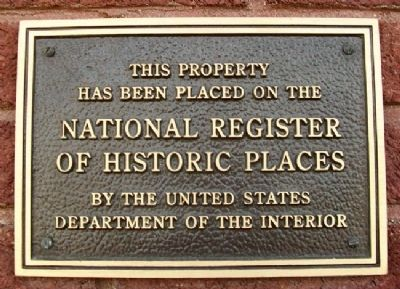Missouri Pacific Railroad Depot NRHP Marker image. Click for full size.