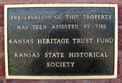 Missouri Pacific Railroad Depot KHTF Marker image. Click for full size.