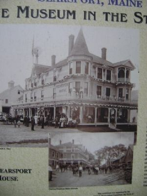 Searsport House Marker image. Click for full size.