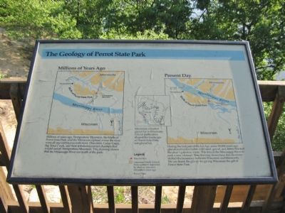 The Geology of Perrot State Park Marker image. Click for full size.
