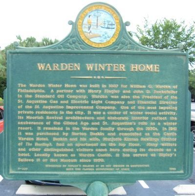 Warden Winter Home Marker image. Click for full size.