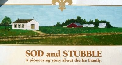 Painting on Sod and Stubble Marker image. Click for full size.
