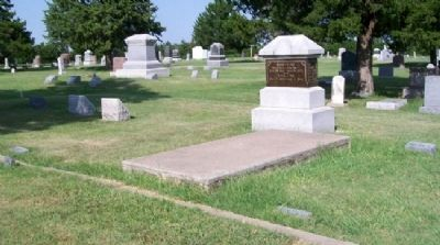 Ise Family Plot in Downs Cemetery image. Click for full size.