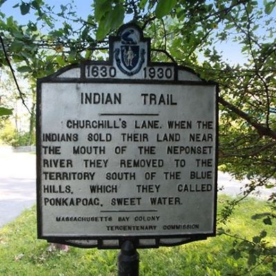 Indian Trail Marker image. Click for full size.