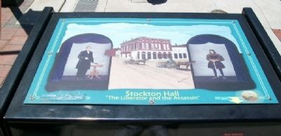 Stockton Hall Marker image. Click for full size.