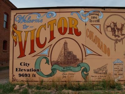 Welcome to Victor Colorado Marker, part #1 image. Click for full size.