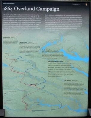 Totopotomoy Creek Marker (center panel) image. Click for full size.