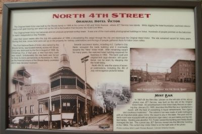 North 4th Street Marker image. Click for full size.