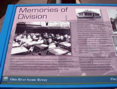Text Area - - Memories of Division Marker image. Click for full size.
