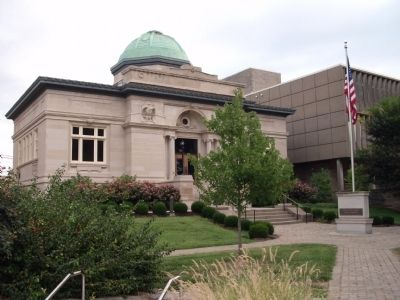 Jeffersonville Carnegie Library image. Click for full size.