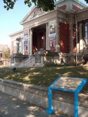 New Albany's Carnegie Library` image. Click for full size.