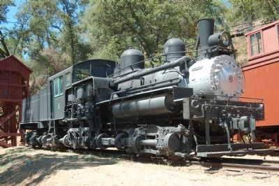 Hetch Hetchy Railroad Locomotive #6 image. Click for full size.