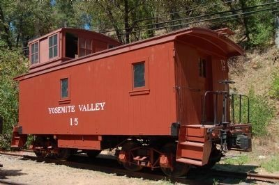 Yosemite Valley Railroad Caboose #15 image. Click for full size.