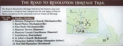 Road to Revolution Heritage Trail image. Click for full size.