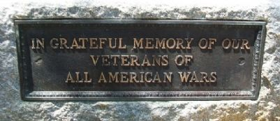 World War and All War Memorial Marker image. Click for full size.