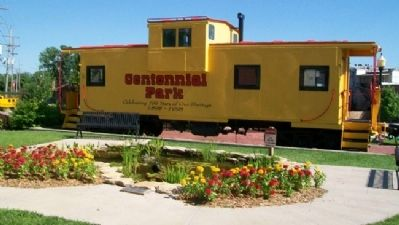 Centennial Park Caboose image. Click for full size.