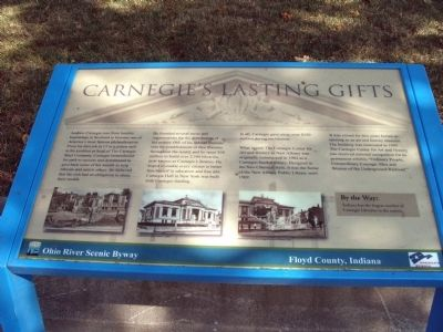 Carnegie's Lasting Gifts Marker image. Click for full size.