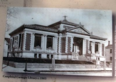 "Marker Photo - - ""1903 - Completed"" image. Click for full size."