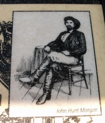 "Marker Photo - - ""John Hunt Morgan"" image. Click for full size."