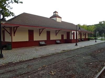 Wilmington & Western Railroad Station image. Click for full size.