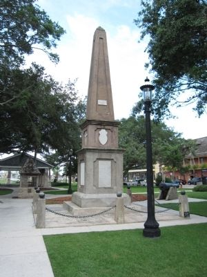 St. Augustine Confederate Memorial image. Click for full size.