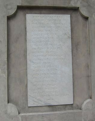 Lower Front of Memorial image. Click for full size.