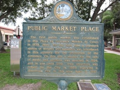 Public Market Place Marker image. Click for full size.
