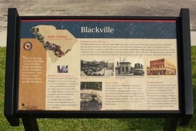 Blackville Marker image. Click for full size.