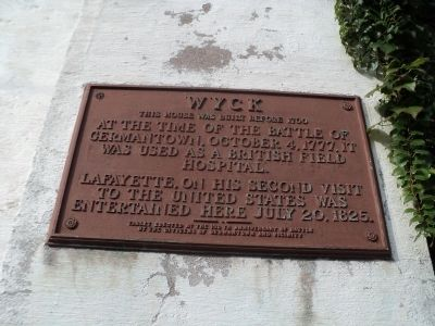 Wyck Marker image. Click for full size.