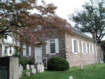 Historic Germantown Mennonite Meetinghouse image. Click for full size.