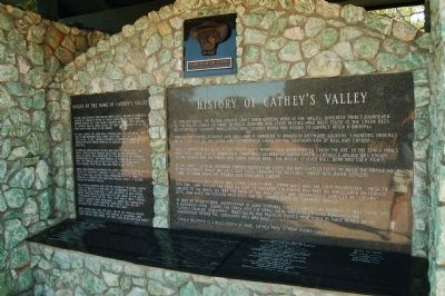 Cathey's Valley Marker image. Click for full size.